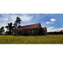 Church In the Prairie Photographic Print