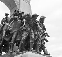 Canada's National War Memorial in Ottawa, Canada by Josef Pittner