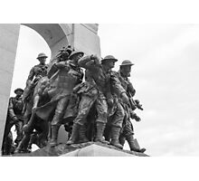 Canada's National War Memorial in Ottawa, Canada Photographic Print
