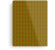 Acid Green Design L Metal Print