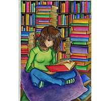Reading lover Photographic Print