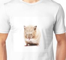 Sleepy Hamster Unisex T-Shirt