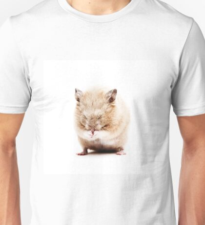Sleepy Hamster Unisex T-Shirt