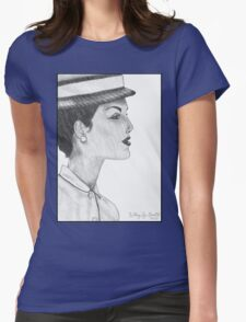 1950's Female: In Profile (with background) T-Shirt