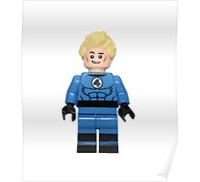 LEGO Johnny Storm / Human Torch Poster