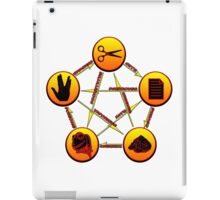 rock paper scissors lizard spock iPad Case/Skin
