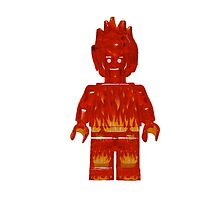 LEGO Human Torch / Johnny Storm by jenni460