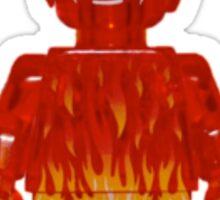 LEGO Human Torch / Johnny Storm Sticker