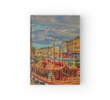 """""""A Festival of Boats"""" Classic Boats Hardcover Journal"""
