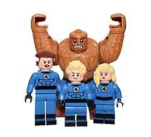 LEGO Fantastic Four by jenni460