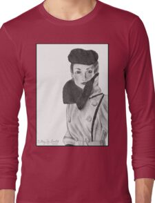 Spy (with background) Long Sleeve T-Shirt