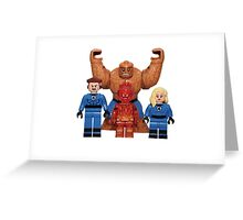LEGO Fantastic Four Greeting Card