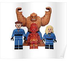 LEGO Fantastic Four Poster