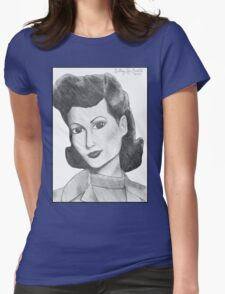 1940's Actress (with background) T-Shirt