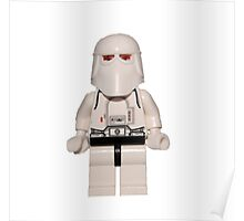 LEGO Snow Trooper Poster