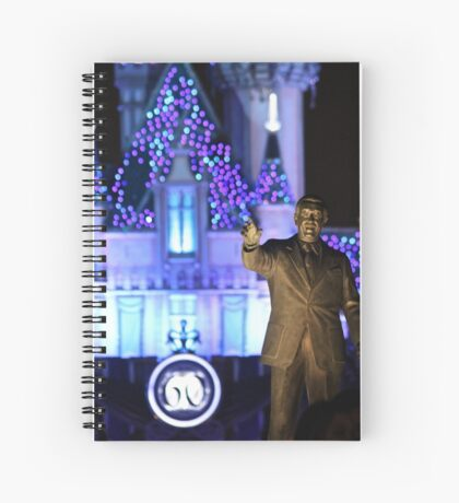 Walt's Dream of 60 Years Spiral Notebook