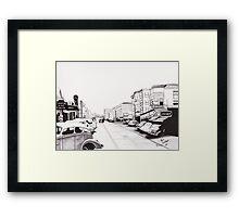 1944 Florence Bourbon Street Framed Print