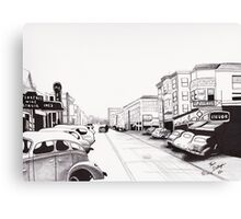 1944 Florence Bourbon Street Canvas Print