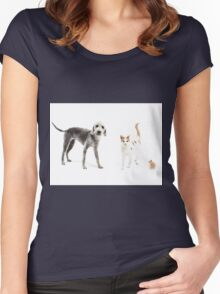 Pet Family Women's Fitted Scoop T-Shirt