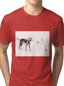 Pet Family Tri-blend T-Shirt