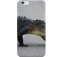 Gator Crossing iPhone Case/Skin