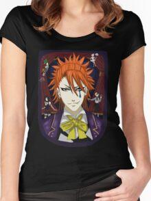 Joker - Noah's Ark Circus - Black Butler Fan Art Women's Fitted Scoop T-Shirt