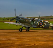 Spitfire HF Mk.IXe TD314 by Chris Thaxter