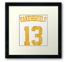 Team Oakenshield Framed Print
