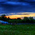 Farming for Sunset by Dave DelBen