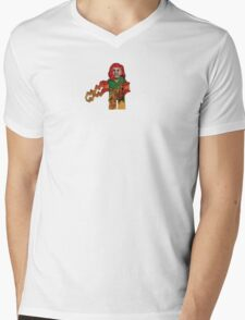 LEGO Jean Grey Mens V-Neck T-Shirt