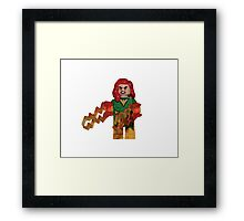 LEGO Jean Grey Framed Print