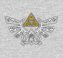 Zelda - Hyrule doodle One Piece - Long Sleeve