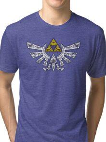 Zelda - Hyrule doodle Tri-blend T-Shirt
