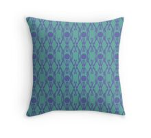 Royal Air Force Blue Design K Throw Pillow