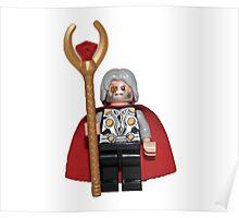 LEGO Odin Poster