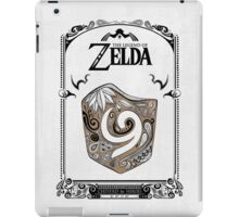 Zelda legend Kokiri shield iPad Case/Skin