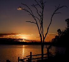 Gordonbrook sunset by SuzieD