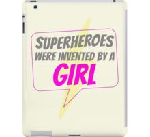 Tight Pants and Capes--by Ladies, for Ladies iPad Case/Skin