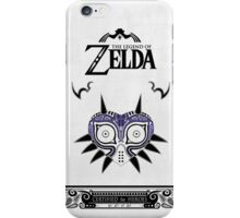 Zelda Legend - Majora's Mask doodle iPhone Case/Skin