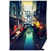 Venetian Glow Poster