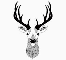 Deer Black and White Unisex T-Shirt