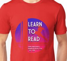 Super Smash Bros. LEARN TO READ  Unisex T-Shirt