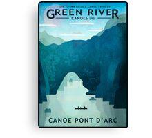 Explore Pont D'Arc Canvas Print