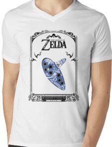 Zelda legend - Ocarina doodle Mens V-Neck T-Shirt