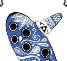 Zelda legend - Ocarina doodle Sticker