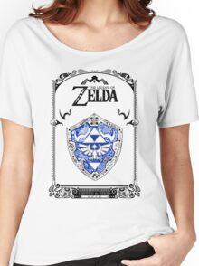 Zelda legend - Link Shield doodle Women's Relaxed Fit T-Shirt