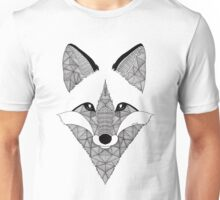 Fox black and white Unisex T-Shirt