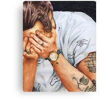 Harry Hands Canvas Print