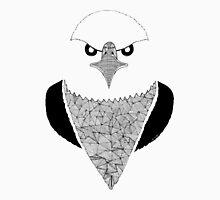 Eagle black and white Unisex T-Shirt