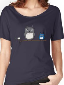 Totoro Owls Women's Relaxed Fit T-Shirt